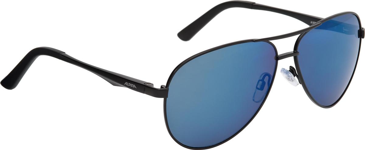 Велосипедные очки Alpina A 107, цвет оправы: черный