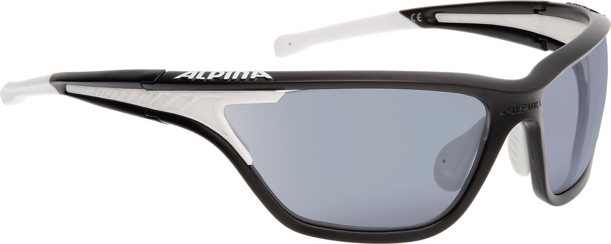 Велосипедные очки Alpina Alpina Eye-5 Tour Vlm+, цвет оправы: черный, белый