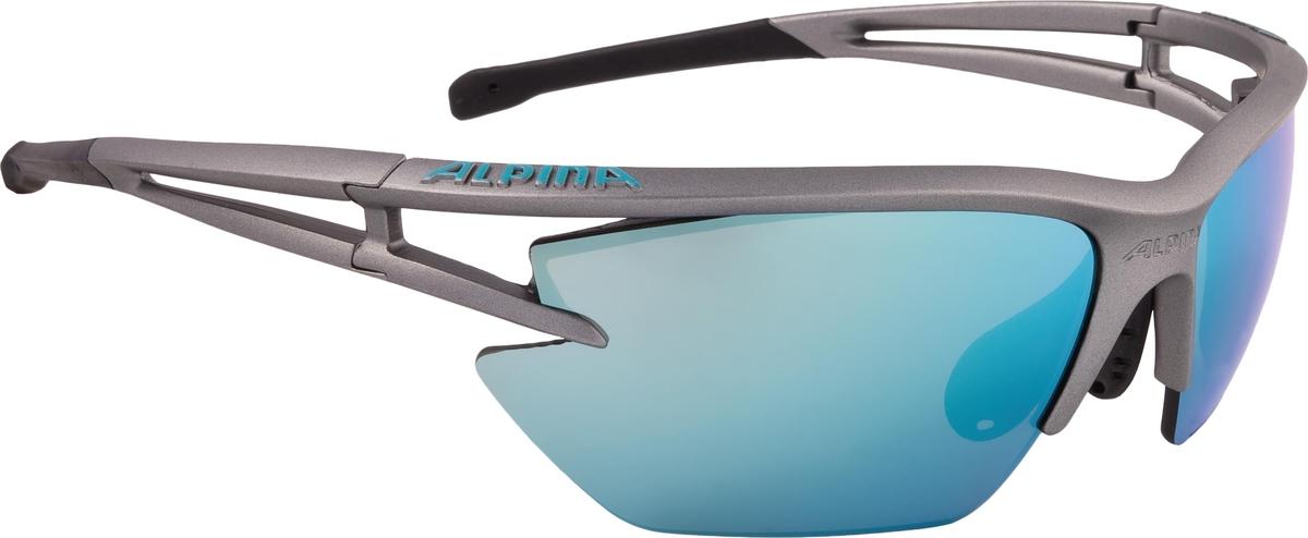 Велосипедные очки Alpina Alpina Eye-5 Hr Vl+, цвет оправы: черный, белый