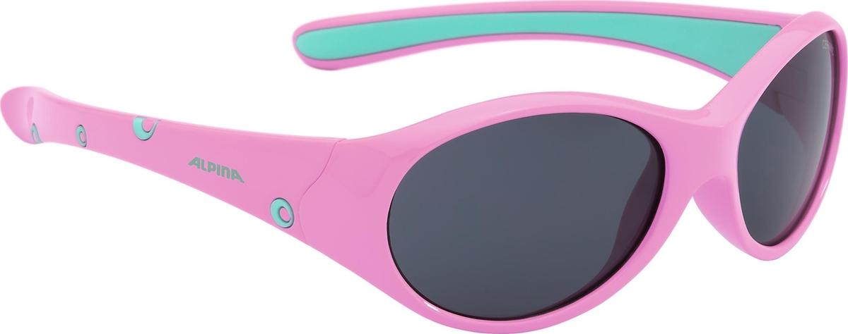 Велосипедные очки Alpina Flexxy Girl, цвет оправы: розовый. 4003692220745 очки солнцезащитные alpina flexxy junior black green