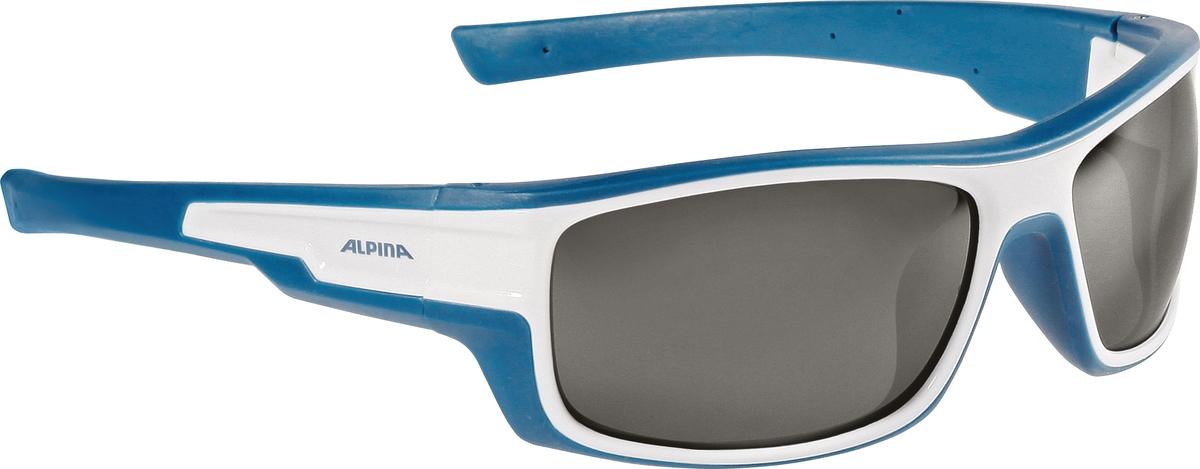 Велосипедные очки Alpina Chill Ice Cm+, цвет оправы: белый, синий