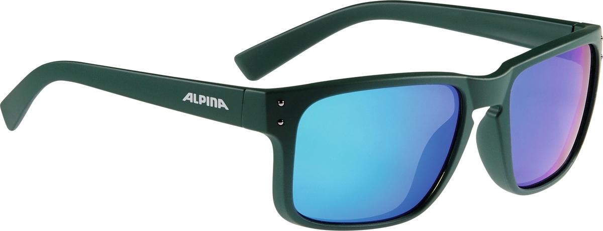 Велосипедные очки Alpina Kosmic, цвет оправы: зеленый