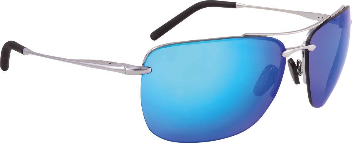 """Минималистичный и утонченный дизайн очков """"Cluu"""" создает стильный внешний вид. Обрезиненные кончики дужек обеспечивают хорошую посадку.Особенности:зеркальные линзы обеспечивают 100% защиту от ультрафиолета;защитное керамическое покрытие против царапин;категория защиты: S3."""