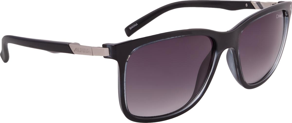Велосипедные очки Alpina Bakina, цвет оправы: черный
