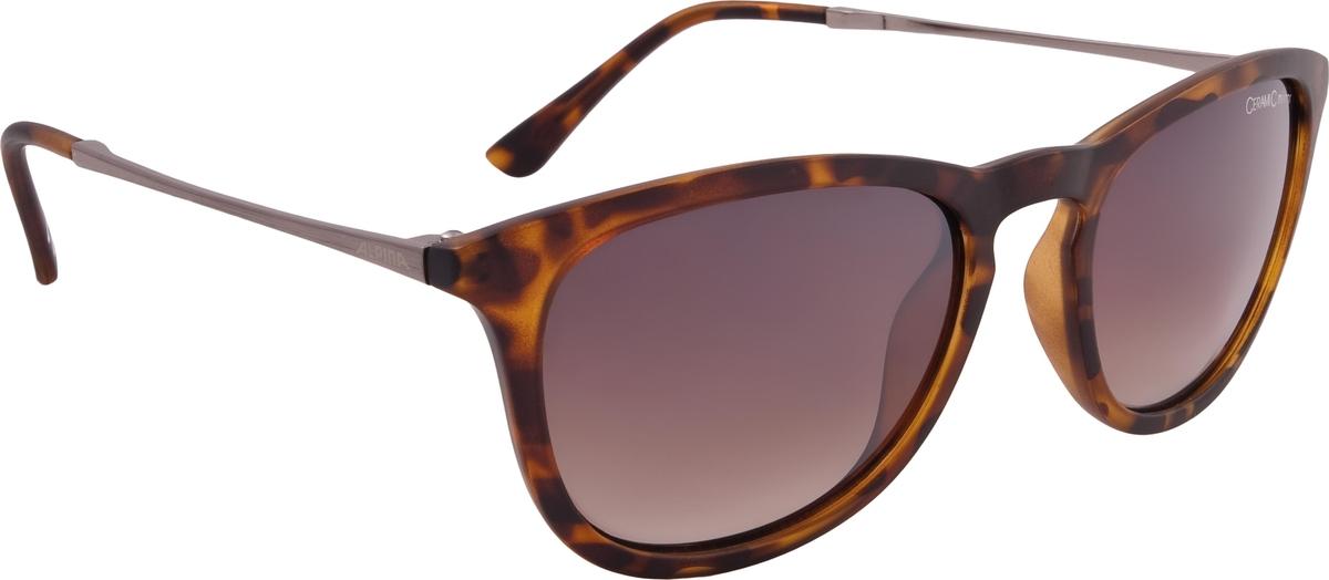 Велосипедные очки Alpina Zaryn, цвет оправы: коричневый