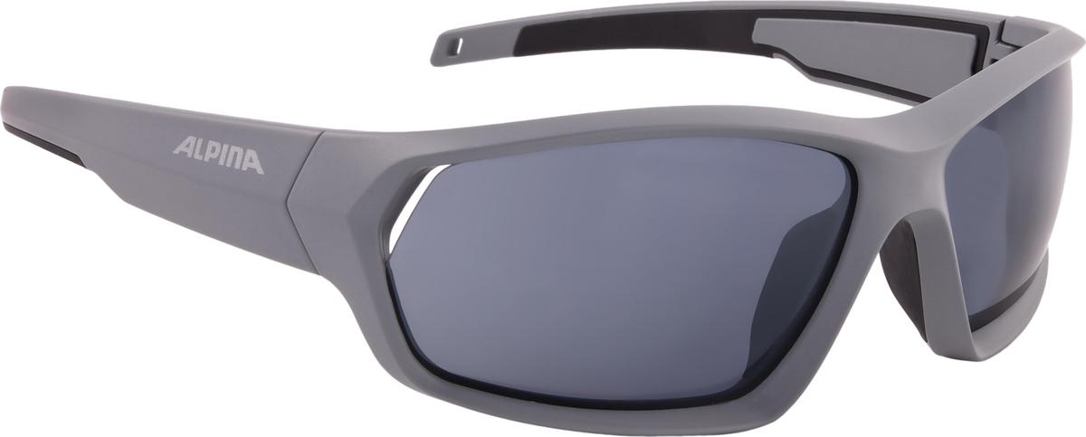 Велосипедные очки Alpina Pheso, цвет оправы: серый