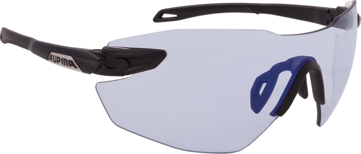 Велосипедные очки Alpina Twist Five Shield Rl Vlm+, цвет оправы: черный