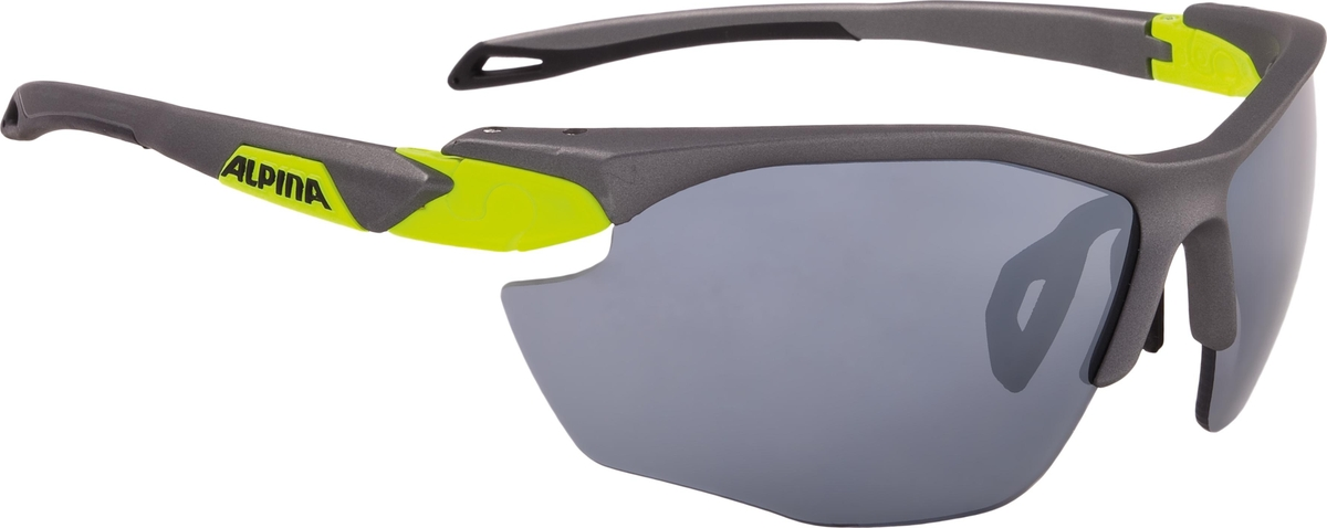Велосипедные очки Alpina Twist Five Hr Cm+, цвет оправы: серый