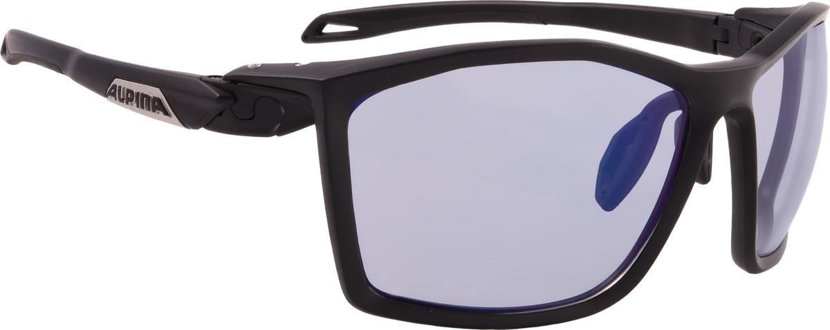 Велосипедные очки Alpina Twist Five Vlm+, цвет оправы: черный