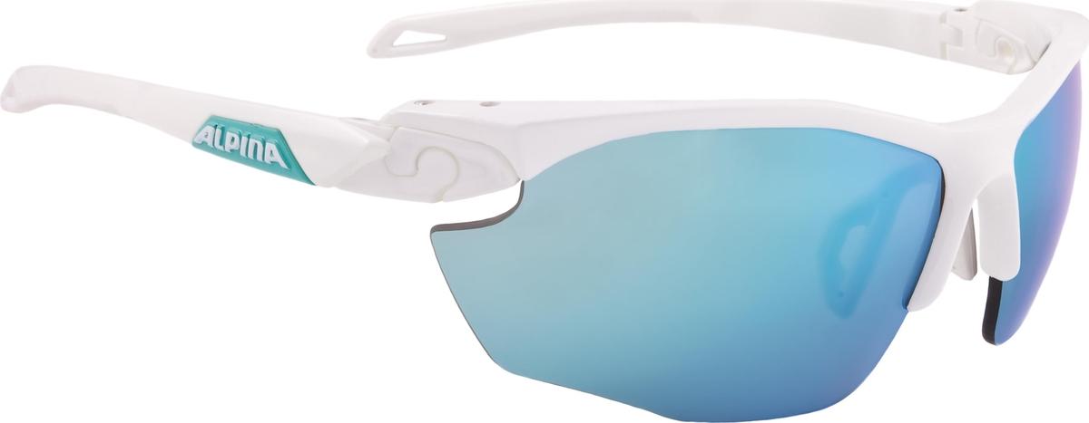 Велосипедные очки Alpina Twist Five Cm+, цвет оправы: белый