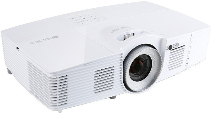 Acer V7500 DLP, White мультимедийный проектор vivitek dx977wt white мультимедийный проектор