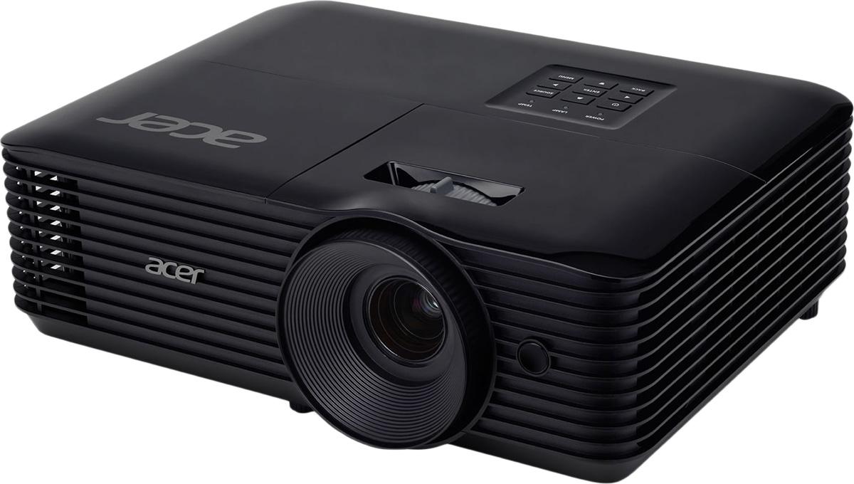 Acer X138WH, Black мультимедийный проектор - Проекторы