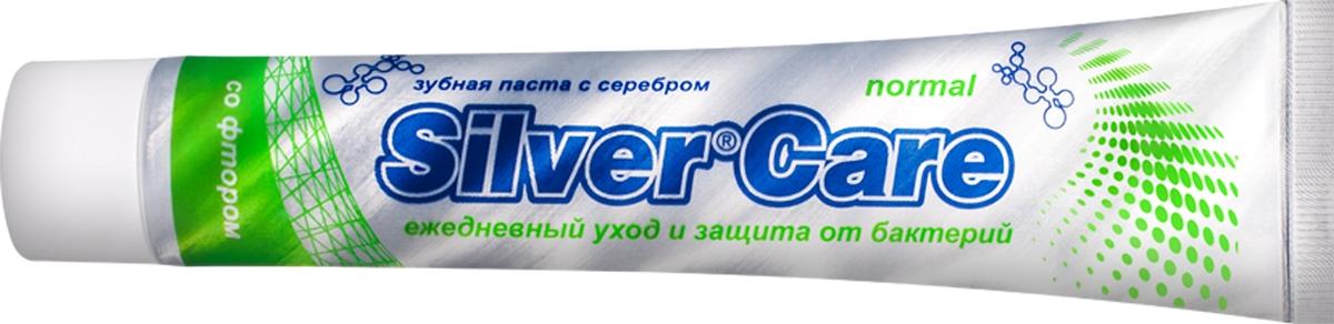 Зубная паста Silver Care Normal со фтором, 75 мл