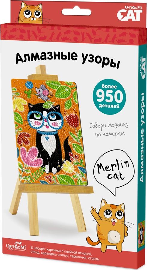 Origami Cat Алмазные узоры Merlin Cat стилус polar pp001