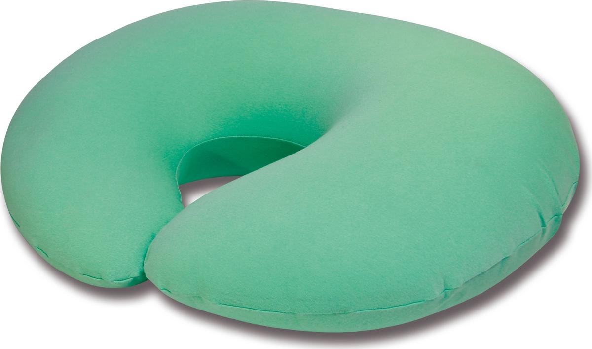 Штучки, к которым тянутся ручки Подушка для кормящих и беременных антистрессовая С-образная цвет мятный