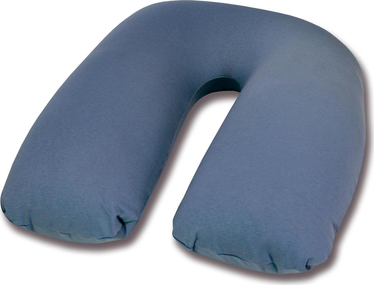 Штучки, к которым тянутся ручки Подушка для кормящих и беременных антистрессовая U-образная цвет серый