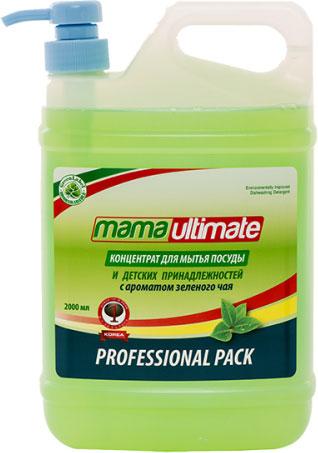 Средство для мытья посуды Mamaultimate Зеленый чай, 2 л бальзам для мытья посуды зеленый чай frosch 0 5 л