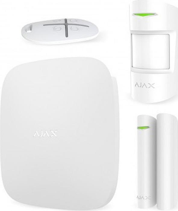 Ajax StarterKit, White комплект радиоканальной охранной сигнализации