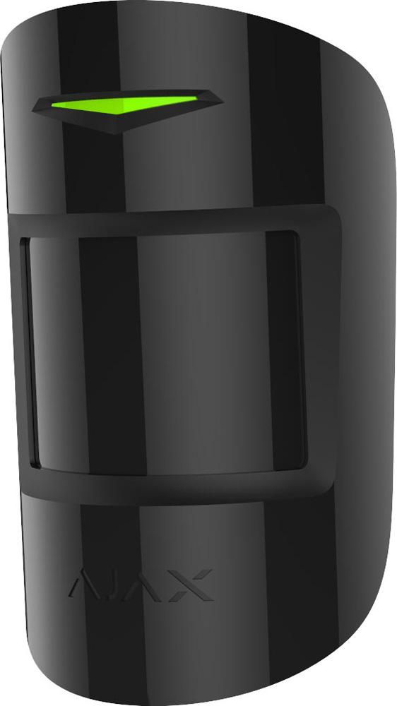 Ajax MotionProtect Plus, Black датчик движения с микроволновым сенсором иммунитетом к животным аксессуар модуль интеграции ajax ocbridge plus