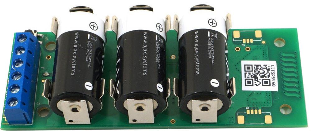 Ajax Transmitter беспроводной модуль для интеграции/подключения датчиков сторонних производителей