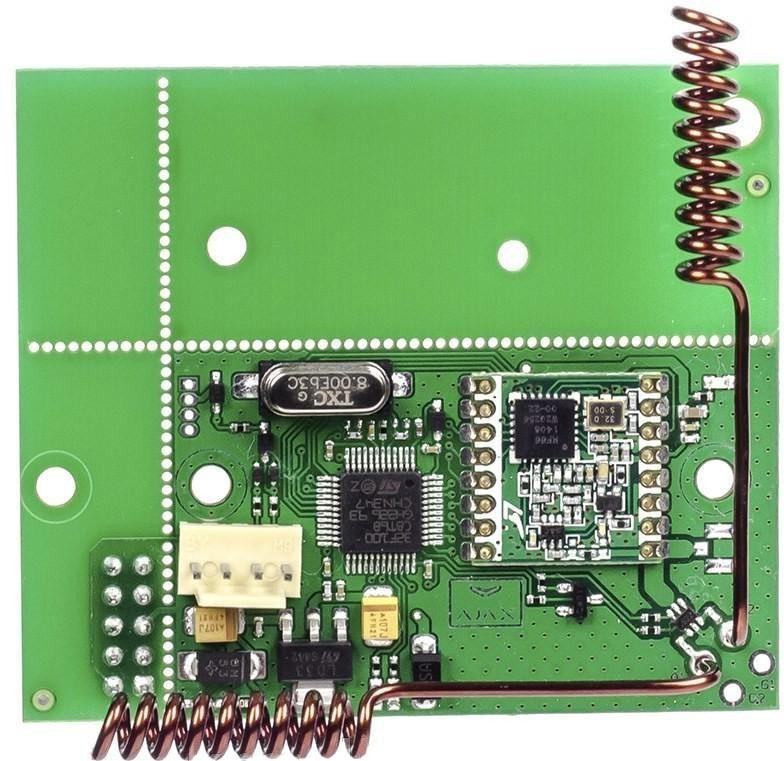 Ajax uartBridge модуль интеграции с беспроводными охранными и Smart Home системами аксессуар модуль интеграции ajax ocbridge plus