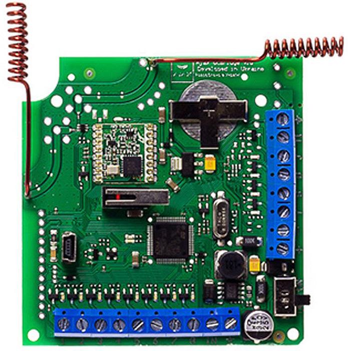 Ajax ocBridge Plus модуль интеграции с проводными и гибридными системами безопасности аксессуар модуль интеграции ajax ocbridge plus