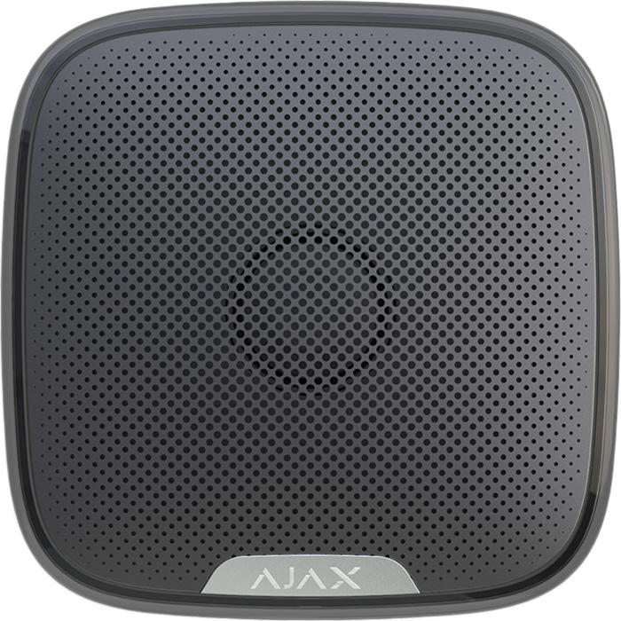Ajax StreetSiren, Black беспроводная звуковая уличная сирена
