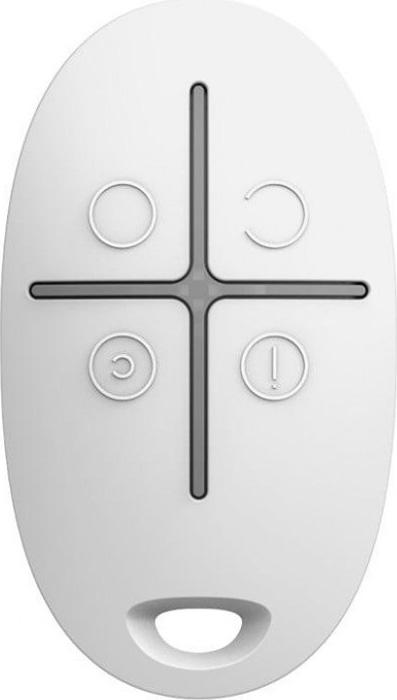 Ajax SpaceControl, White брелок 4-кнопочный с обратной связью датчик ajax fireprotect white