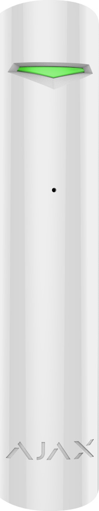 Ajax GlassProtect, White датчик разбития стекла датчик ajax fireprotect white
