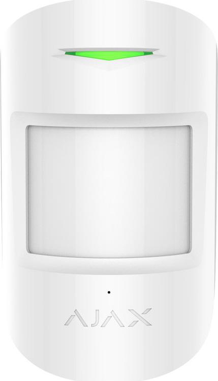 Ajax CombiProtect, White комбинированный датчик движения и разбития стекла