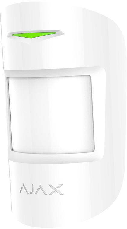 Ajax MotionProtect, White датчик движения с иммунитетом к животным