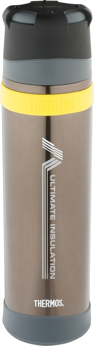 Термос Thermos FFX-900, цвет: коричневый, 900 мл thermos фляга thermos roho 101105 700 мл 0ql7 bxk