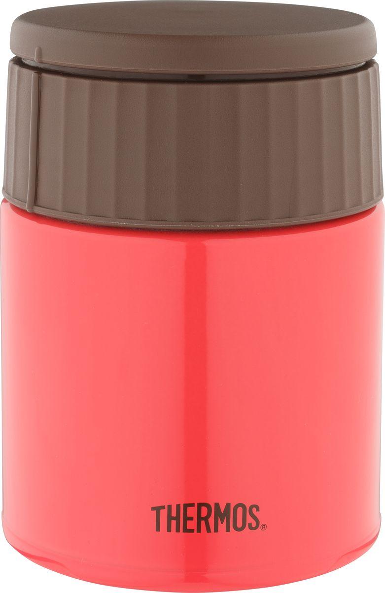 Термос для еды Thermos JBQ-400, цвет: красный, 400 мл thermos фляга thermos roho 101105 700 мл 0ql7 bxk