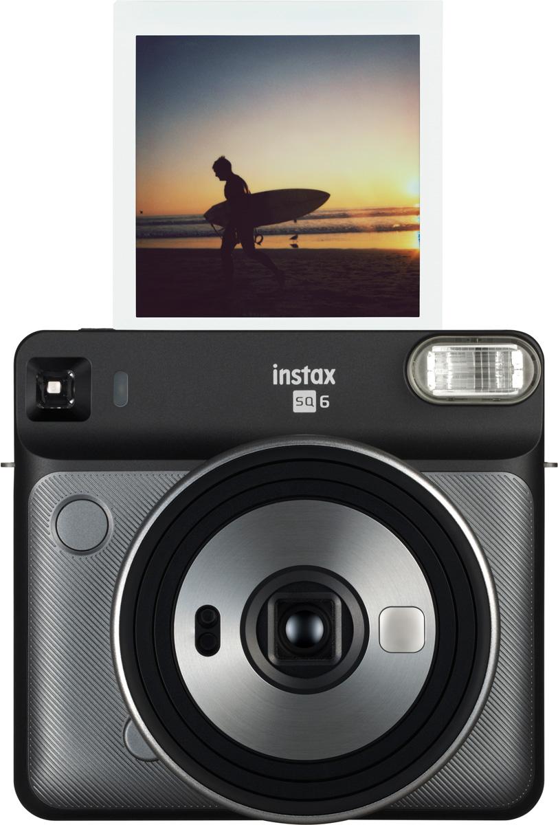 Fujifilm Instax SQ6, Graphite Grayфотокамера мгновенной печати Fujifilm