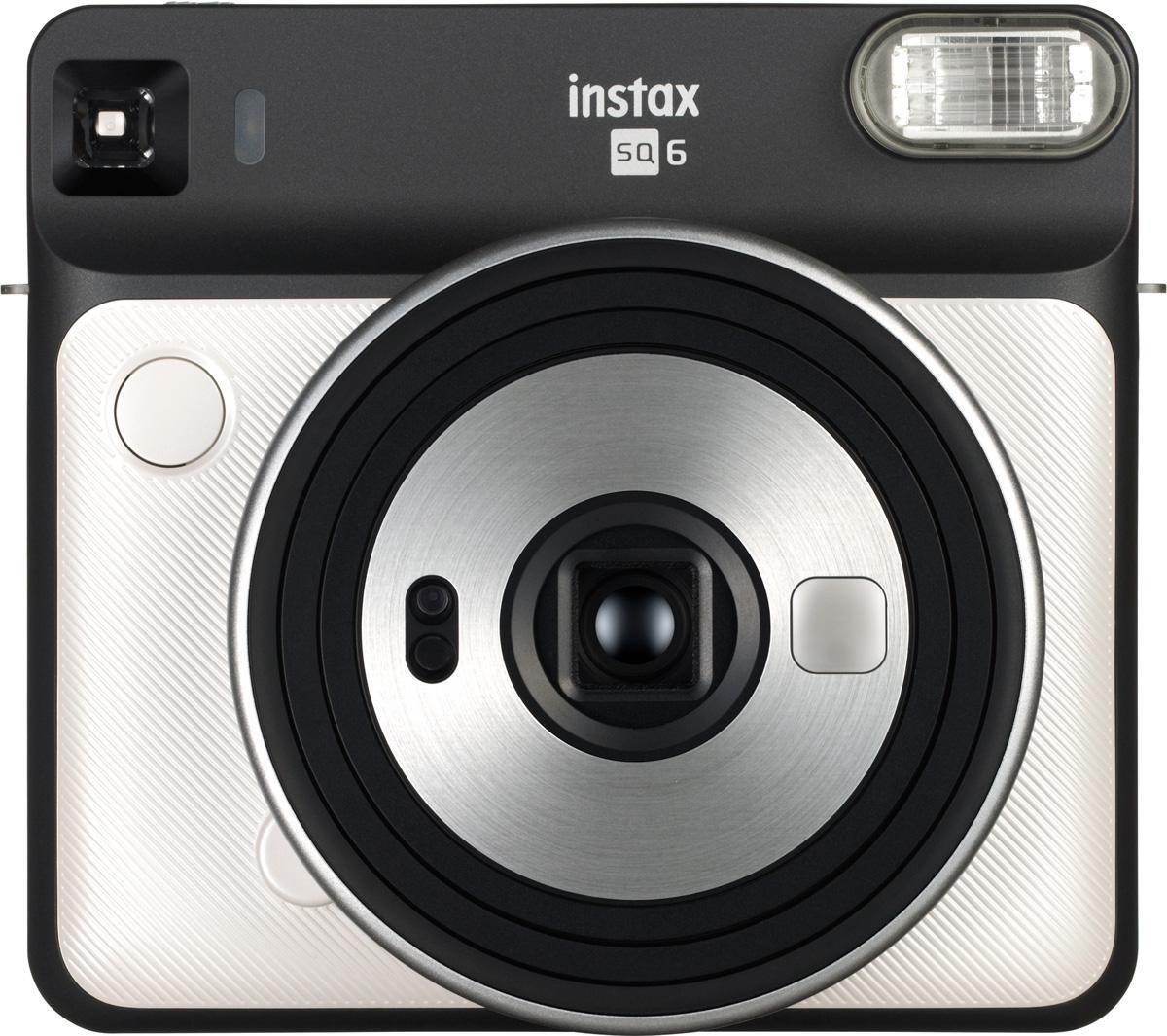 Zakazat.ru: Fujifilm Instax SQ6, Pearl White фотокамера мгновенной печати