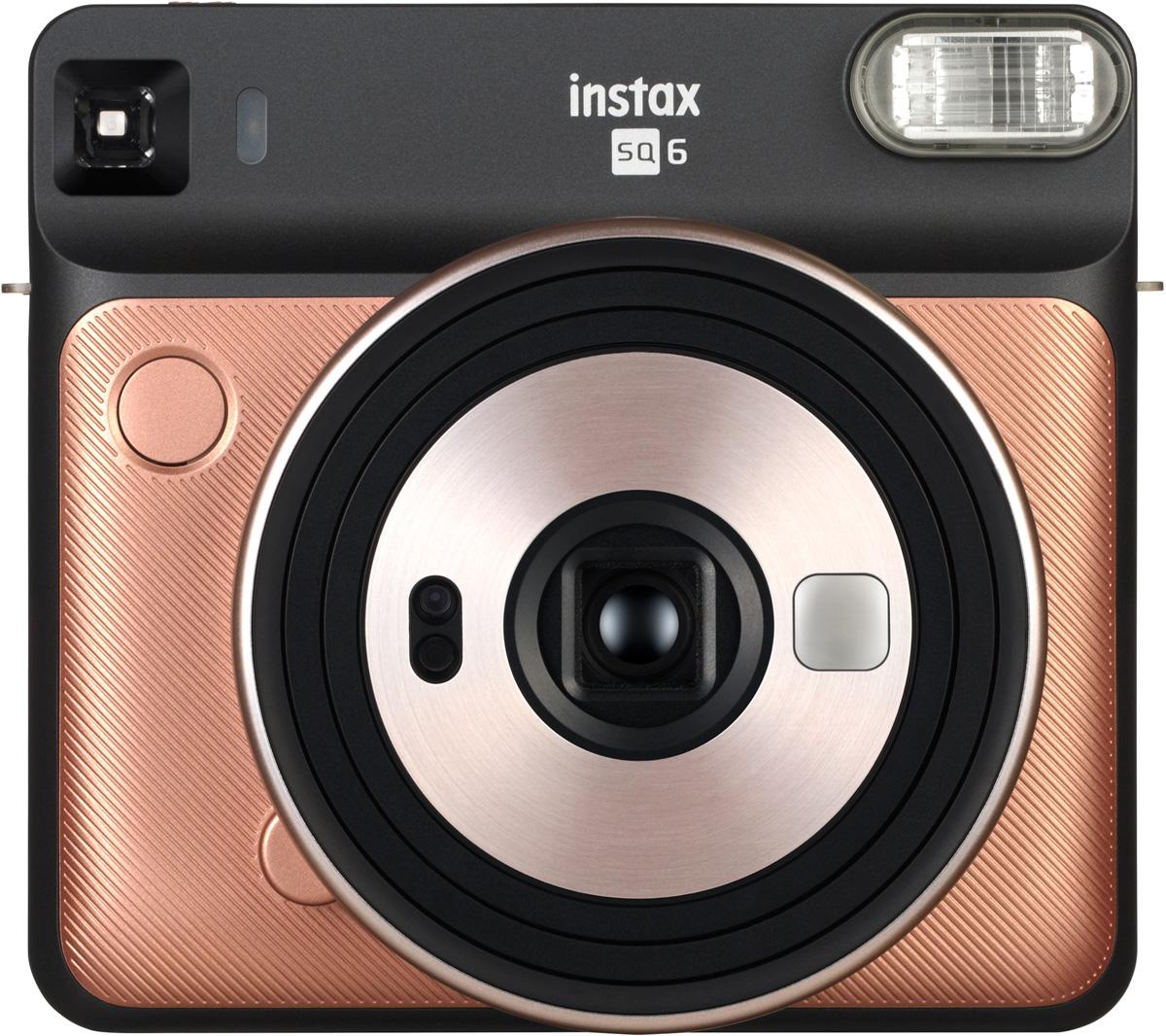 Fujifilm Instax SQ6, Blush Gold фотокамера мгновенной печати