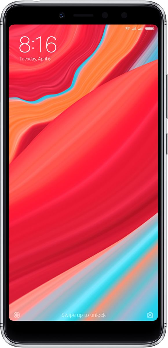 Xiaomi Redmi S2 (4GB+64GB), Grey смартфон xiaomi redmi s2 4 64gb grey