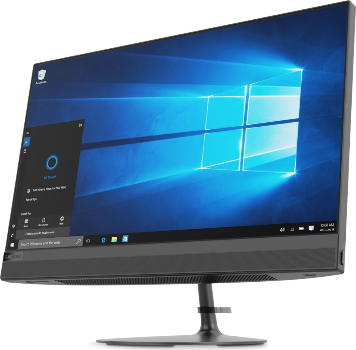 Lenovo IdeaCentre AIO 520-24IKL, Black моноблок (F0D1006HRK)