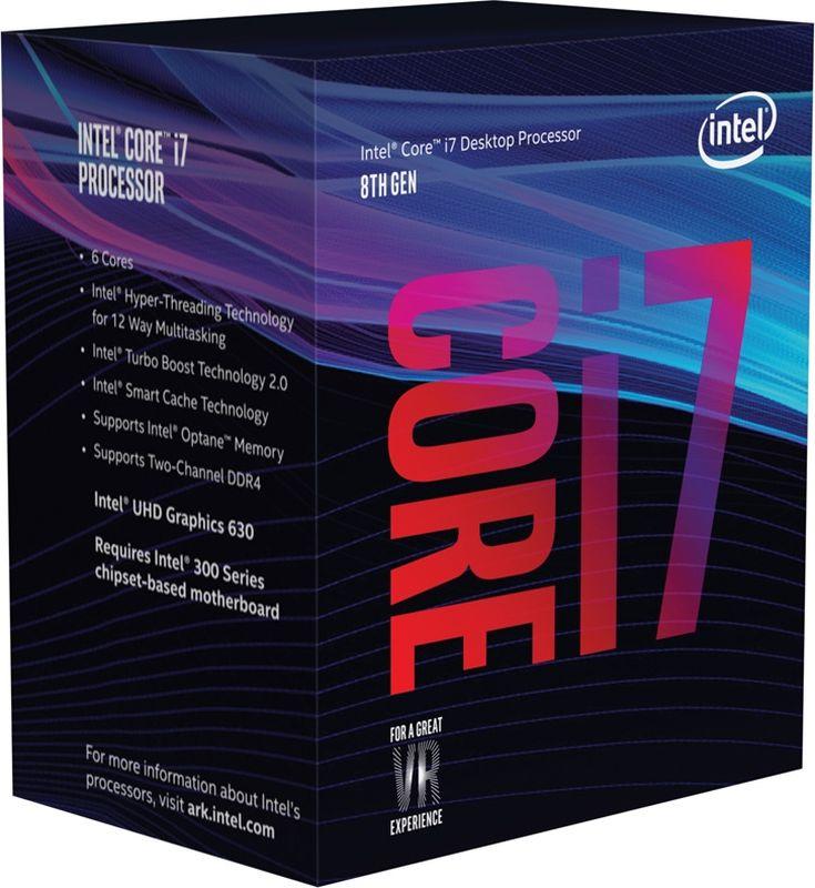 Intel Core i7-8700 процессор
