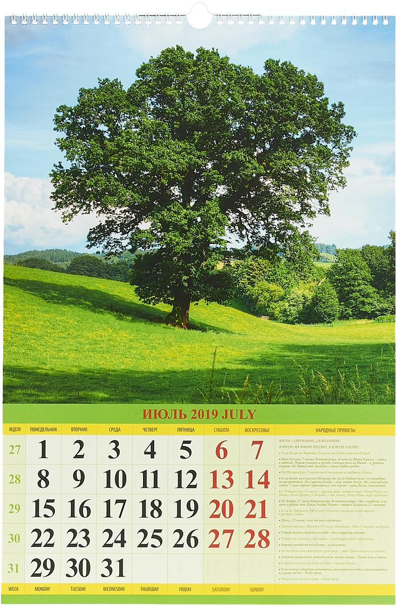Родной край (320*480). Календарь 2019.