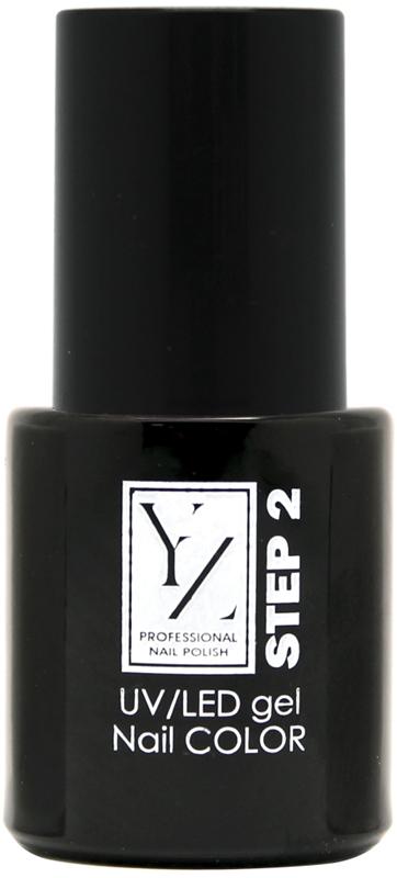 YZ UV/LED гель-лак Насыщенный цвет, тон красный классический, 10 мл