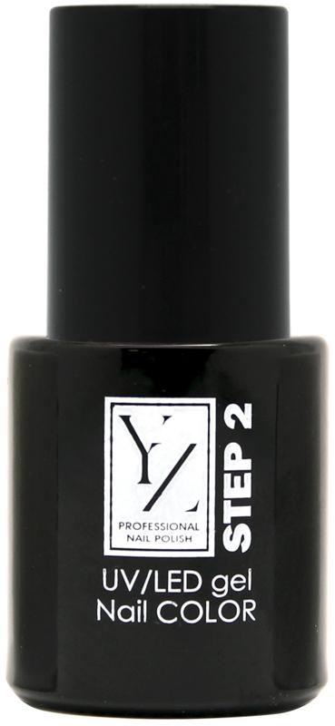 YZ UV/LED гель-лак Насыщенный цвет, тон кровавый, 10 мл