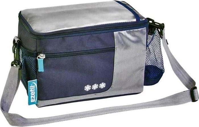 Термосумка Ezetil KC Holiday. Travel in Style, цвет: голубой, 5 л автохолодильник ezetil e 26 m 12 230v