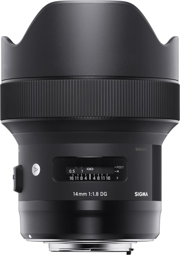 Sigma AF 14 mm F/1.8 DG HSM/A, Black объектив для Canon