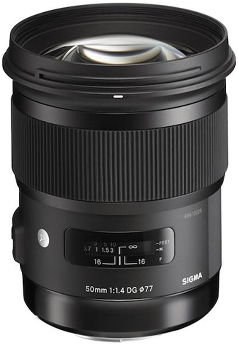 Sigma AF 50 mm F/1.4 DG HSM/A, Black объектив для Sony E объектив sigma sony e af 30 mm f 2 8 dn art for nex silver