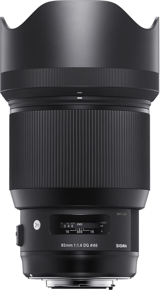 Sigma AF 85 mm F/1.4 DG HSM/A, Black объектив для Sony E объектив sigma sony e af 30 mm f 2 8 dn art for nex silver