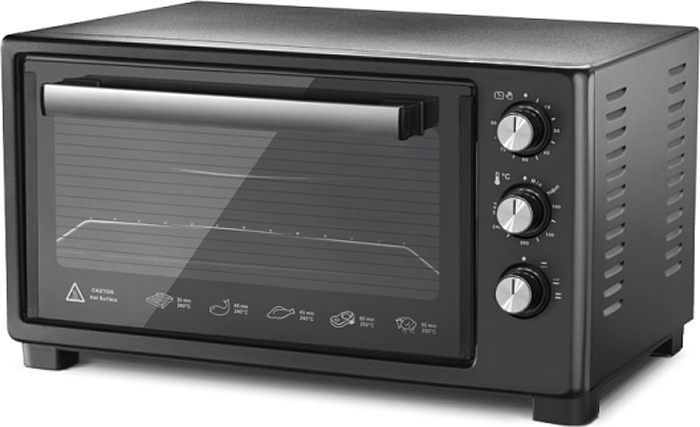 LuxellLX-13520, Black мини-печь мини печь luxell lx 3520 white