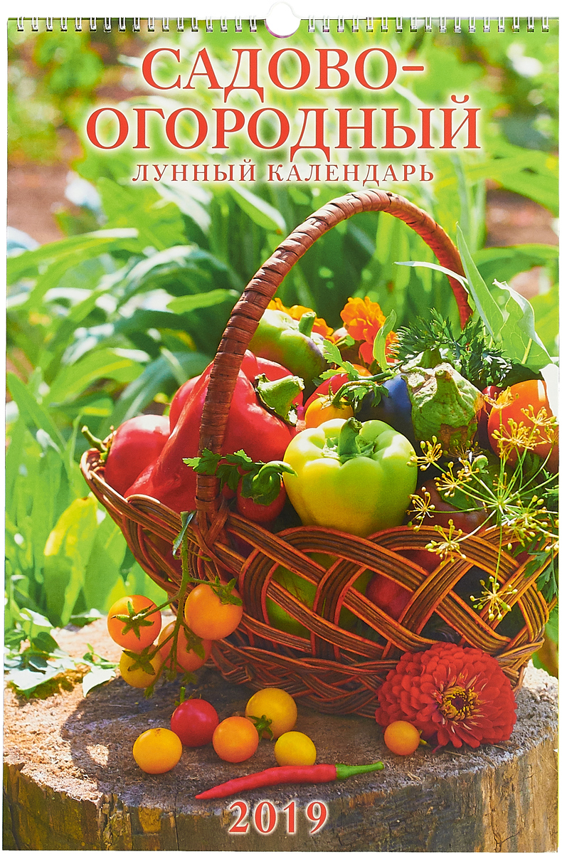 Садово-огородный лунный календарь (320*480). Календарь 2019