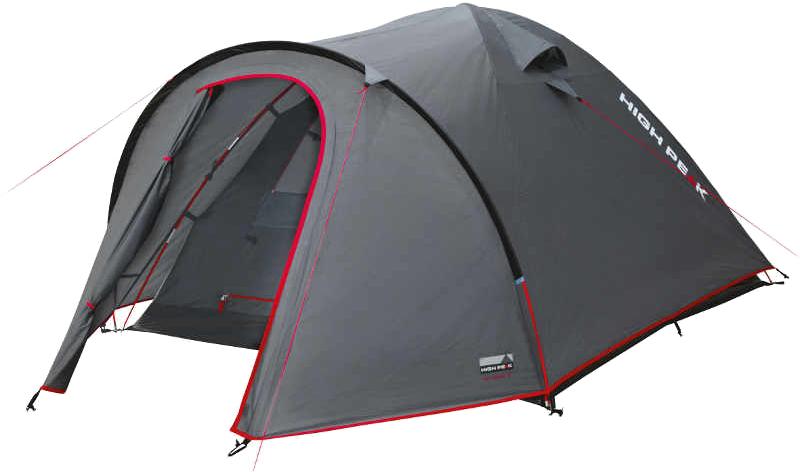 Палатка High Peak Nevada 2, цвет: темно-серый, 140 х 330 х 115 см. 10199