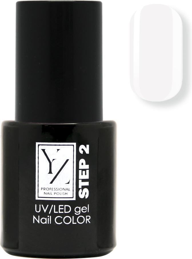 YZ UV/LED гель-лак Насыщенный цвет, тон белая эмаль, 10 мл лак для ногтей karnaval тон 80 yz иллозур объём 12 мл